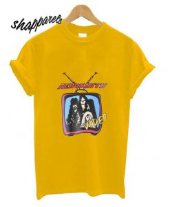 Aerosmith Video Yellow T Shirt