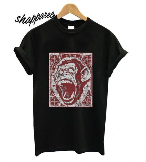 Angry Monkey T shirt