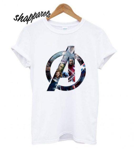 Avengers Logo T shirt