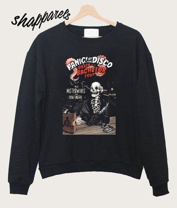 70793d95 Death of a Bachelor Panic at The Disco Sweatshirt