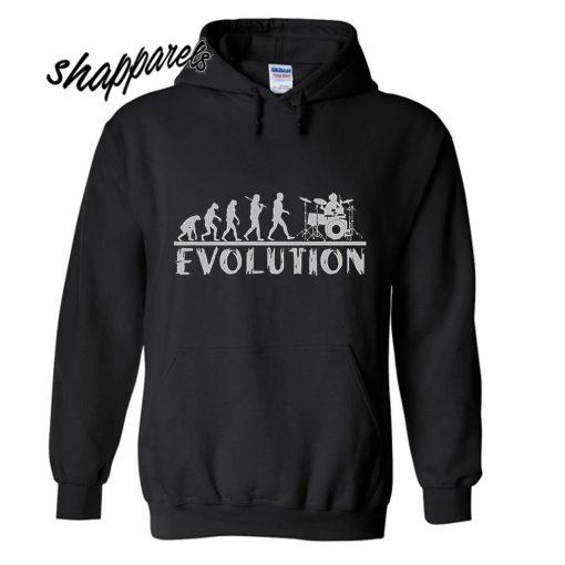 Drummer Evolution Hoodie