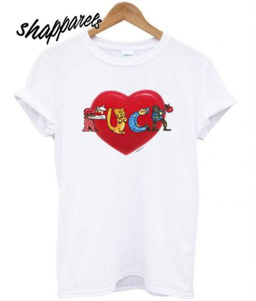Fuck Love T shirt