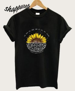 Mental Health Awareness Sunflower T shirt