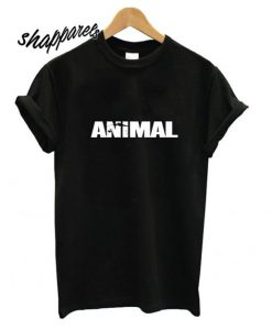 animal font t-shirt