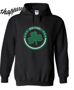0% Irish Unisex Hoodie