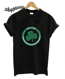 0% Irish Unisex T shirt