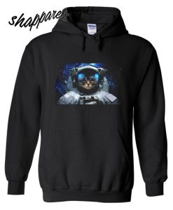 ASTRONAUT SPACE CAT GALAXY HOODIE