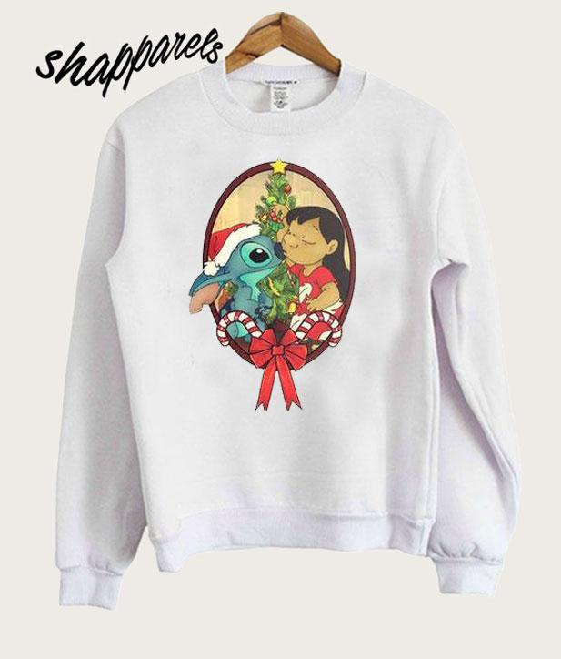 406b3ad98 Lilo   Stitch Christmas Sweatshirt