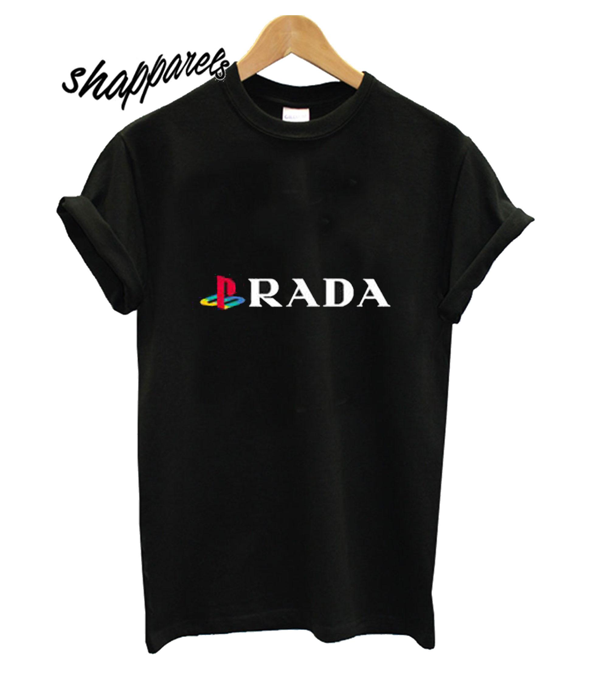 344771ca2ef183 Playstation Prada T shirt