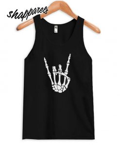 Skeleton hans horns Ladies Tank top