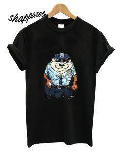 Tasmanian Devil Police T shirt