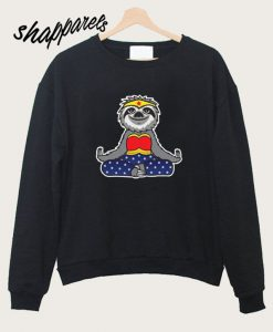 Wonder Sloth Yoga Sweatshirt