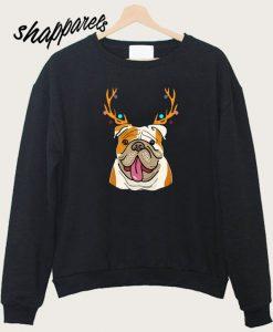 XMAS Funny Bulldogs Sweatshirt
