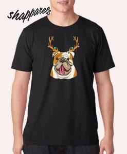 XMAS Funny Bulldogs T shirt
