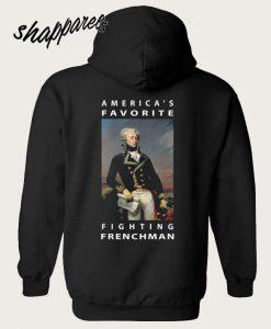 America's Favorite Hamilton Back Hoodie