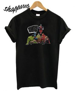 Stan Lee And Superheroes T shirt