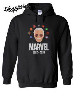 Stan Lee Marvel R.I.P 1922-2018 Hoodie