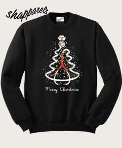 Stethoscope Christmas tree Sweatshirt