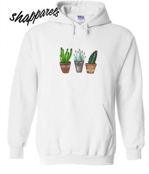 Trio cactus Hoodie