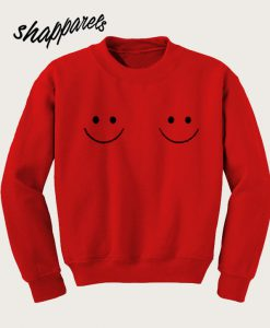 Twin smile Boobs Sweatshirt