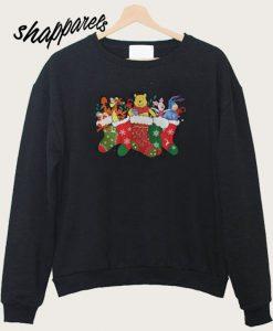 Winnie The Pooh Christmas Ugly Sweatshirt