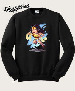 Wonder Woman Chibi Women's Sweatshirt