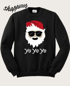 Yo Yo Yo Cool Christmas Sweatshirt