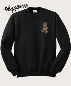 Yorkshire Terrier Pocket Sweatshirt