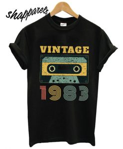 1983 Birthday Retro Vintage T shirt