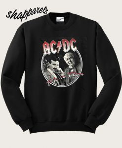 AC DC Tesla Us Edition Sweatshirt