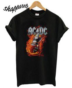 ACDC Guitar T shirt