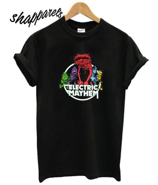 Muppets Electric Mayhem Band T shirt