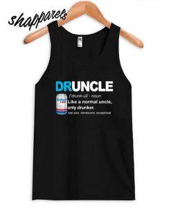 Natural Light define Druncle like a normal uncle only drunker Tank top
