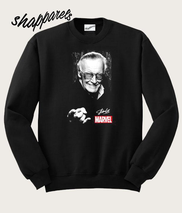 b01f850b Stan Lee Marvel Signature Sweatshirt