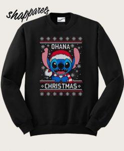 Stitch Ohana Christmas Sweatshirt