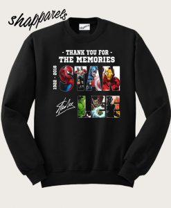 Thank You For The Memories Sweatshirt