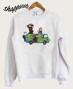 The Massacre Machine Horror Scooby Doo Sweatshirt