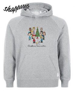 The Peanuts Gang Christmas time is here Hoodie