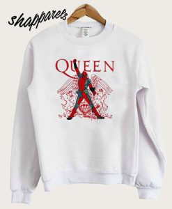 The Queen Freddie Mercury Deadpool Sweatshirt