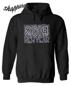 Typography New Years Hoodie