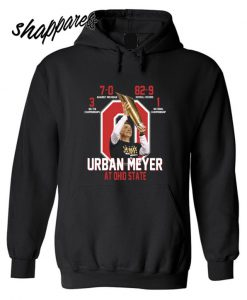 Urban Meyer at Ohio State Hoodie