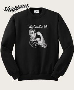 Women Triblend We Can Do It Sweatshirt