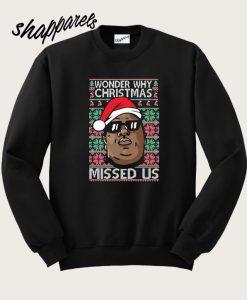 Wonder Why Christmas Sweatshirt