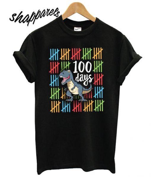 100 Days Smarter School Party 100th Day of School School T shirt