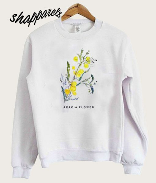 Acacia Flower Sweatshirt