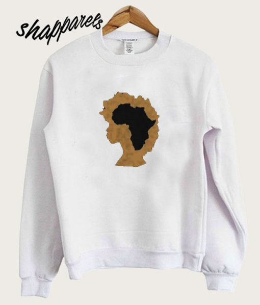 Afro Natural Hair Sweatshirt