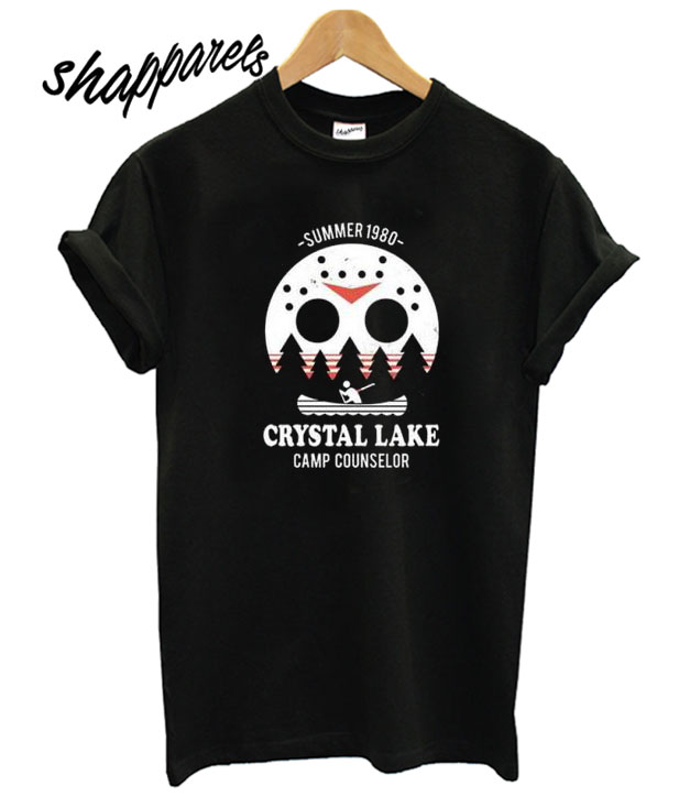 1941c206 Crystal Lake Camp Counselor T Shirt