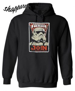 Star Wars Imperial Force Poster Join The Empire Licensed Hoodie