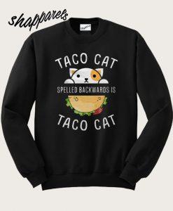 Taco Cat Sweatshirt
