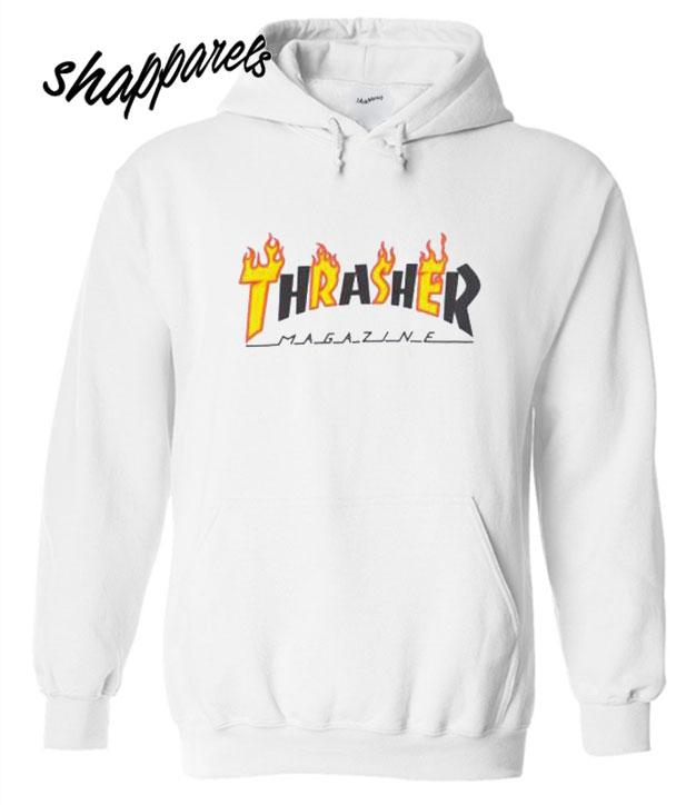 Thrasher Flame Mag Hoodie